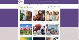 Picture of Kids InfoBits webage