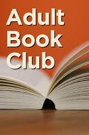 Says Adult Book Club and shows books