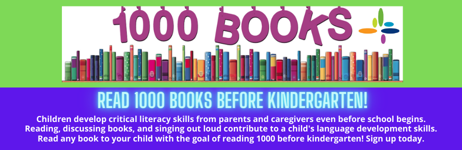 Read 1000 Books Before Kindergarten Challenge!
